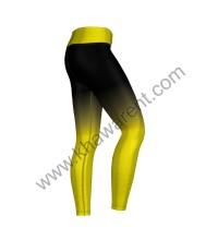 Yellow Ombré Leggings
