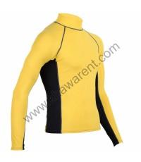 Yellow Rash Guard