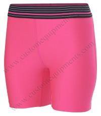 Pink Compression Shorts