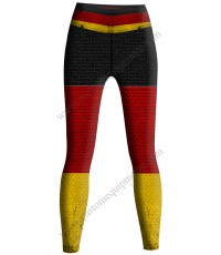 Germany Flag Tights