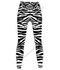 Zebra Lycra Tights