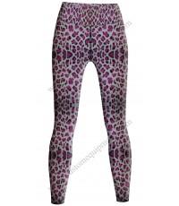 Pink Leopard Tights