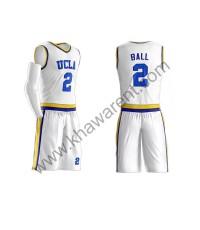 White Basketball Uniforms