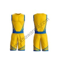 Yellow Basketball Uniforms
